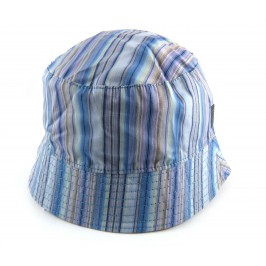 Brand New Paul Smith Reversible Multi-stripe bucket beach Hat ( size M )
