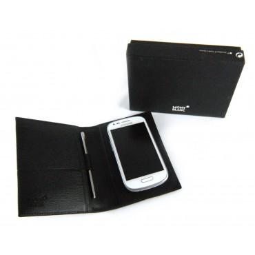 e7ed2597f43e3 Montblanc Mont Blanc 4810 Westside Smartphone Universal Cover Black ...