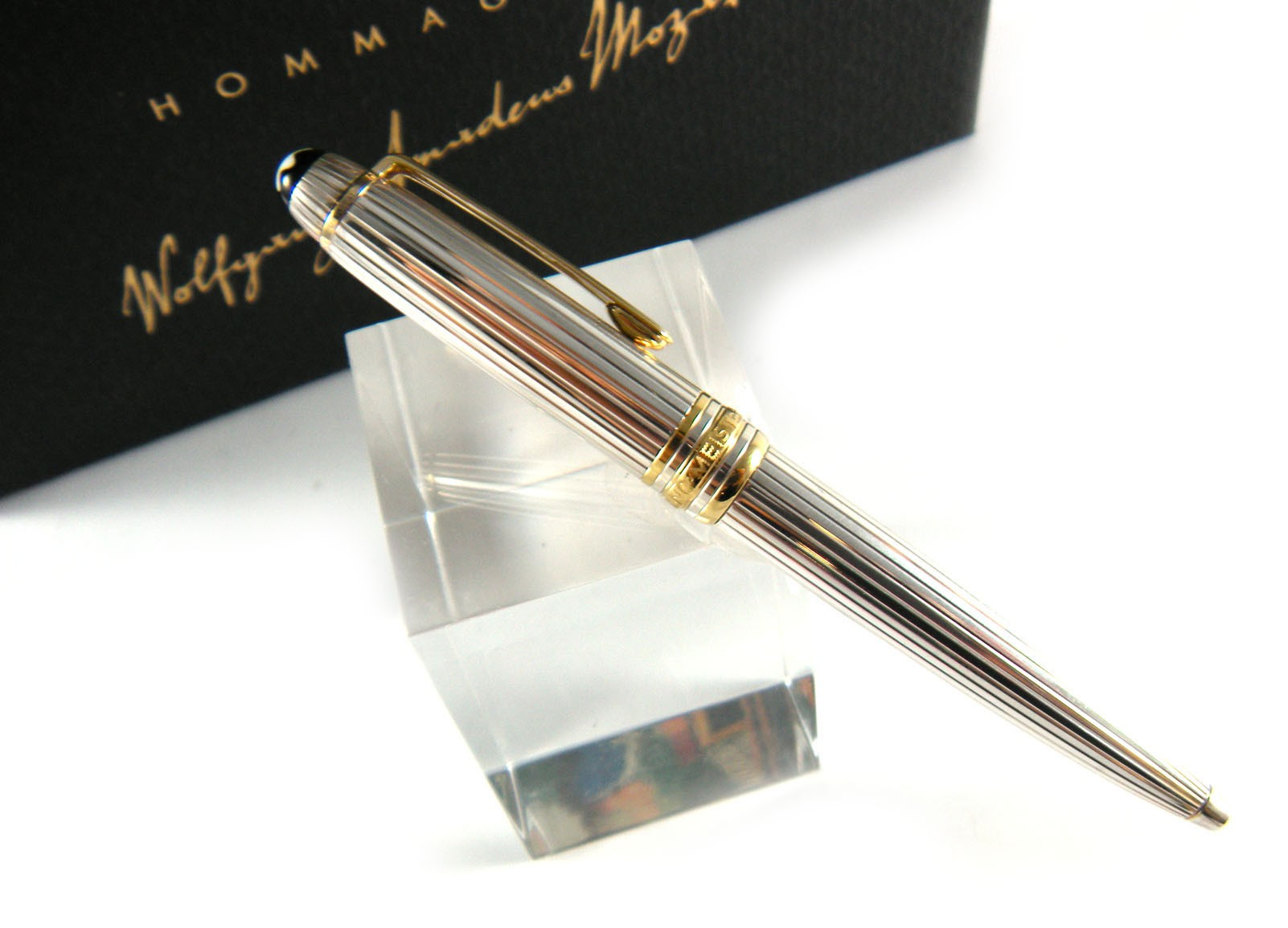 Montblanc Mont Blanc Meisterst 252 Ck Solitaire Sterling