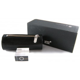 Montblanc Platinum for HaWAM Mozart multi-usage pouch with zip closure 13x5