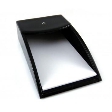 Montblanc porta memo da scrivania in pelle nera linea Meisterstück