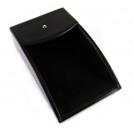 Montblanc Meisterstück Memo Tray black calfskin leather memo note box