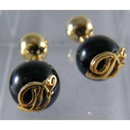 Dsquared2 gemelli eleganti in oro e nero sinonimo di for Sinonimo di immaginare