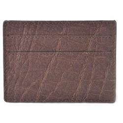 Portafoglio Carte di Credito in Elefante Marrone