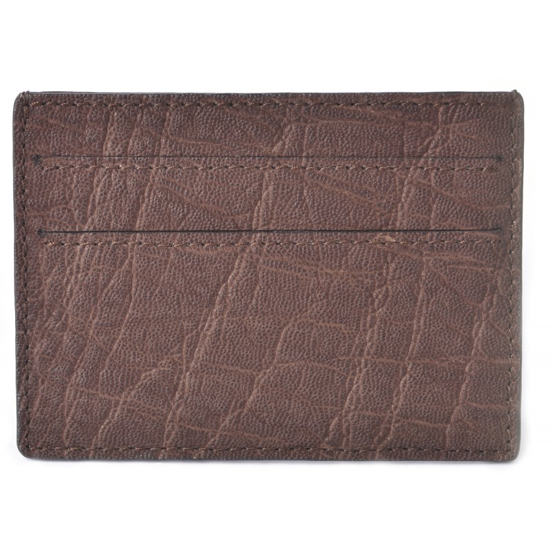 Mens elephant brown credit card case business card holder la mens elephant brown credit card case business card colourmoves