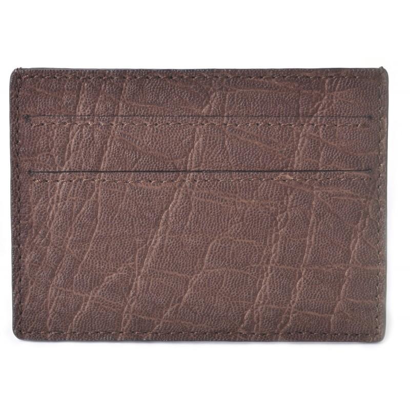 Men\'s Elephant Brown Credit Card Case & Business Card Holder - La ...