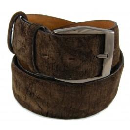 Cintura su misura in Ippopotamo Marrone Savana, Altezza e Taglia a Scelta del Cliente