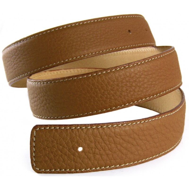 Leather Brown Belt Strap Replacement Textured Leather