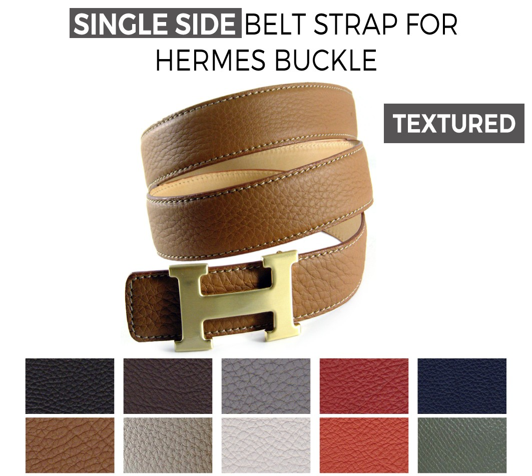 hermes leather belt strap