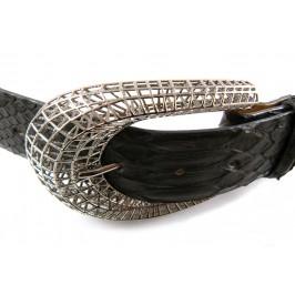 Cintura da Donna in Pitone 4cm con Esclusiva Fibbia Reticube: scelta colore