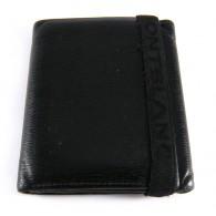 Montblanc 4810 Westside Billfold Wallet 6 Credit Card w/ Elastic Band Closure
