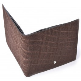 Men's Brown Horizontal Elephant Wallet