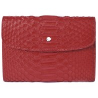 Women's Red Snake Skin Wallet