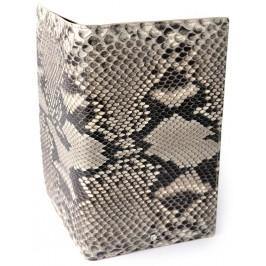 Men's Snake Skin Travel Wallet - Rock Python