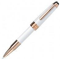 Montblanc Meisterstück W.A. Mozart White Solitaire Rollerball Red Gold HàWAM