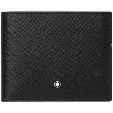 moda firmata buona consistenza vendita a buon mercato usa Montblanc Black Sartorial Wallet 3cc and Coin Case