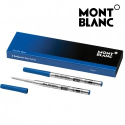 Montblanc 116212 Ballpoint Pen Refill Fine (F) Pacific Blue