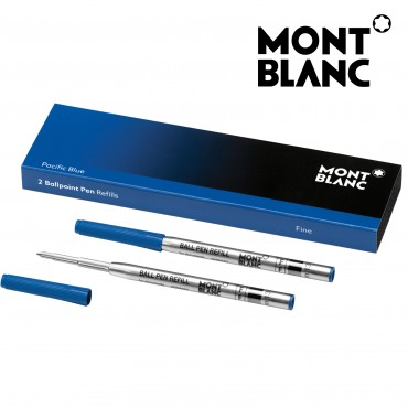 Montblanc 164 Ballpoint Pen Refill (B) Pacific Blue