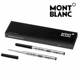 Montblanc 116189 Ballpoint Pen Refill Fine (F) Mystery Black