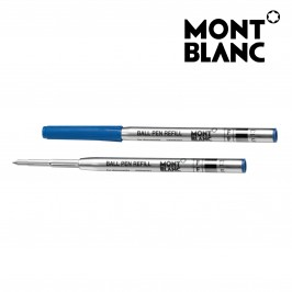 Montblanc 5 Pack 116212 Ballpoint Pen Refill Fine (F) Pacific Blue