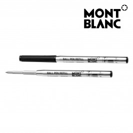 Montblanc 5 Pack 116189 Ballpoint Pen Refill Fine (F) Mystery Black