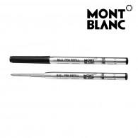 Montblanc 116190 Confezione da 10 Refill Neri (M) Mystery Black per Penna a Sfera