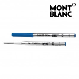 Montblanc 5 Pack 116213 Ballpoint Pen Refill Medium (M) Pacific Blue