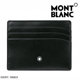 Montblanc Meisterstück Men's Credit Card Pocket 6cc