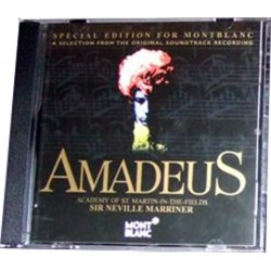 Wolfgang Amadeus Mozart Special Audio CD for Montblanc