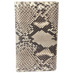 Rock Python Travel Wallet, Snake Skin Long Wallet, Ex Display Demo Item Special Discount
