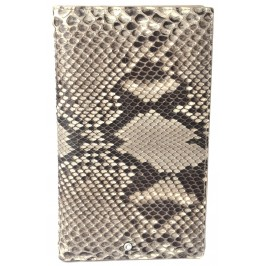 Rock Python Travel Wallet, Snake Skin Long Wallet, Ex Display Demo Item Special Discount