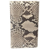 Men's Snake Skin Travel Wallet - Rock Python