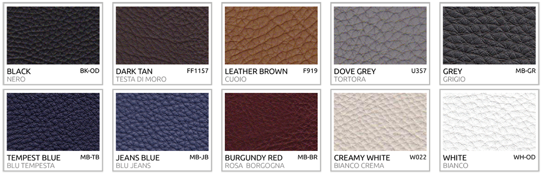 Pebbled Soft-grain Calfskin Colors for Hermes Buckles