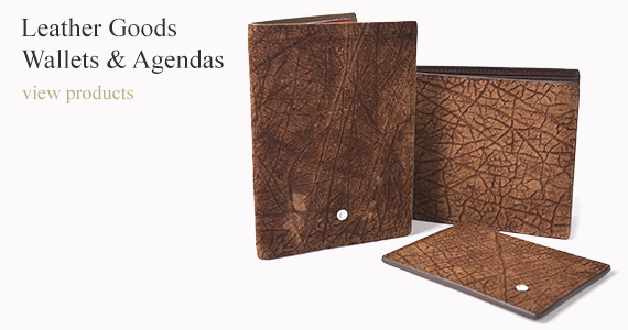 Leather Goods: Wallets & Agendas